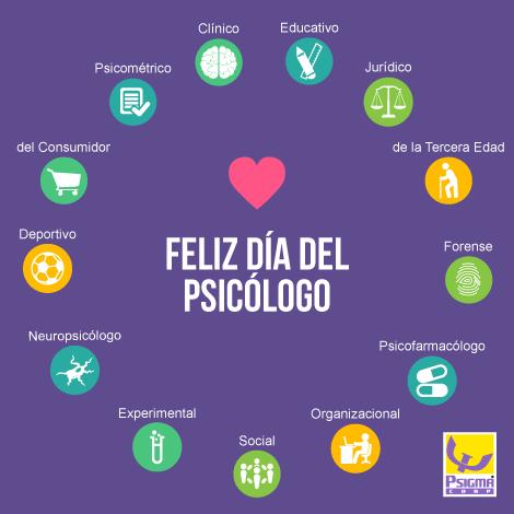 Feliz dia del psicologo